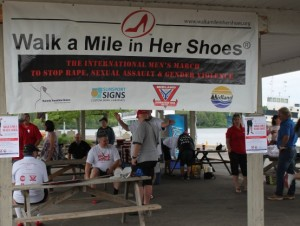 Walk a Mile in Her Shoes Midland